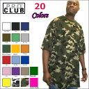PRO CLUB (プロクラブ) 【全20色】【3XL〜4XL】[M〜2XLもございます]COMFORT(コンフォート)PROCLUB 無地/プレーン 半袖Tシャツ(S/S TEE)小さいサイズ大きいサイズスノボー ウェアスノーボード インナー 作業着M L LL 2L 3L 4L 5L