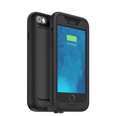 mophie(モーフィー)juice pack H2PRO バッテリー内蔵防水ケースfor iPhone 6/iPhone 6sSTYCOM DockCard iPhone/iPod用充電/同期ケーブル、スタンド及びカード収納3in1一個プレゼント