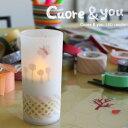 LEDキャンドル クオーレ&ユー   メーカー直営店 Cuore & you LED candle 透明シート3枚付 デザイン照明 DI CLASSE ディクラッセ