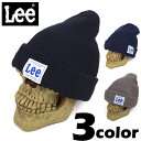 Lee カラーニットキャップ ニット帽 DW565