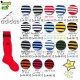■廃盤なくなり次第終了■ サッカーソックス 靴下 子ども 大人 TR616 アディダス(adidas) 3ストライプ ゲームソックス サッカー ストッキング 練習用 くつ下 (sc-socks)