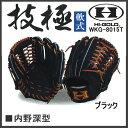 野球 グラブ グローブ 軟式 一般 ハイゴールド HI-GOLD 技極 内野手用 深型 HIGOLD
