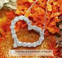 1.0ct K18 THJ「美」ハートネックレス D1.0ct ネックレス レディース ハート heart ゴールド 高品質SIクラス以上 18金 18k ダイヤモン..