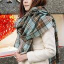 薄手 カシミヤ混 超大判ストール タータンチェック  英国王室御愛用 Lochcarron of scotland ロキャロン 大判ストール ショール カシミヤ混 ウール 英国スコットランド製 かわいい 防寒 大判 ストール 秋冬 ギフト