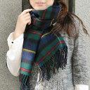 ストール 大判ストール <マクロードオブハリス> 英国王室御用達 Lochcarron of scotland ロキャロンタータンチェック ストール ショール マフラーエリザベス女王即位60周年 【マラソン201211_ファッション】
