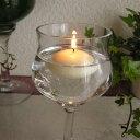 プール50/Floating Candle/フローティング キャンドル /アイボリー 12個セット 結婚式やイベントに♪