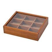 木製 アクセサリーケース M ブラウン 250 550-250
