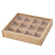 木製 アクセサリーケース L ナチュラル 301 550-301