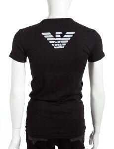 エンポリオアルマーニ アルマーニ Tシャツ イーグル ブラック