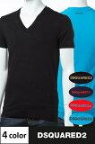 ディースクエアード DSQUARED2 Tシャツアンダーウェア Tシャツ 半袖 Vネック メンズ D9M450910 送料無料 楽ギフ_包装 3000円OFF クーポンプレゼント DSQ限定特価