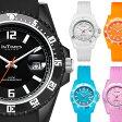 INTIMES インタイムス 40mm 大人 かわいい シリコン ウォッチ 防水 シリコン ラバー ダイバー メンズ レディース アナログ アウトドア カジュアル 腕時計 ITCF066