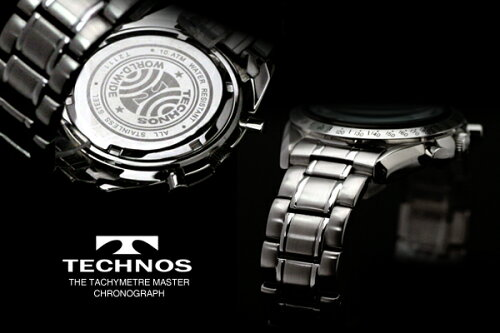 TECHNOSテクノス2011秋冬コレクションクロノグラフ限定モデルメンズ腕時計T2111SW