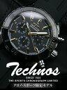 TECHNOS テクノス クロノグラフ クロノ・スポーツ 限定モデル メンズ 腕時計 T2292