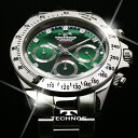 TECHNOS テクノス クロノグラフ ジルコニア・リミテッド 限定モデル メンズ スーツにもカジュアルにも!人気のメンズ腕時計♪T4102SG