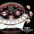 TECHNOS テクノス ハイエンド向け本革ベルト クロノグラフ リミテッド 限定モデル メンズ 腕時計 T4161 選べる3タイプ