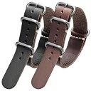 時計 ベルト ホーウィン クロムエクセル レザー ZULU 本革 腕時計 ベルト バンド ストラップ 18mm 20mm 22mm