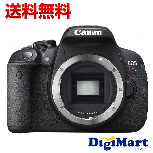 【送料無料】キャノン CANON EOS Kiss X7i ボディ デジタル一眼レフカメラ(※レンズが別売り)【新品・国内正規品・キット化粧箱・メーカー保証付】