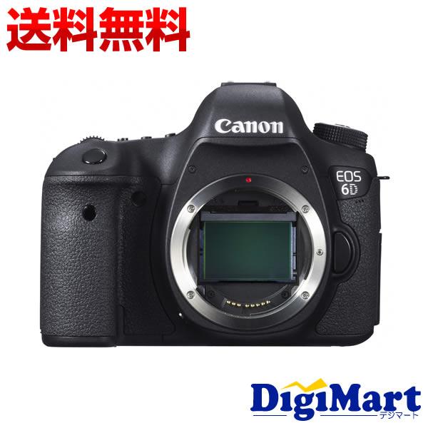 【送料無料】キャノン CANON EOS 6D ボディ (※レンズ別売り) デジタル一眼レフカメラ 【新品・国内正規品】