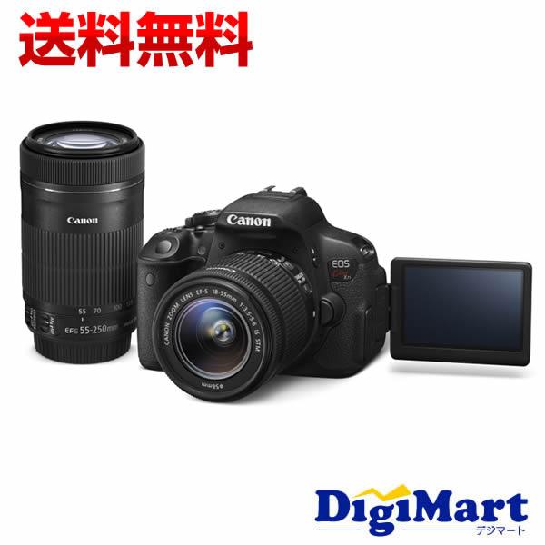 【送料無料】キャノン CANON EOS Kiss X7i ダブルズームキット デジタル一眼レフカメラ 【新品・国内正規品】