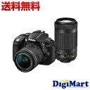 4月2日以降の発送【送料無料】ニコン Nikon D5300 AF-P ダブルズームキット デジタル一眼レフカメラ【新品・国内正規品】