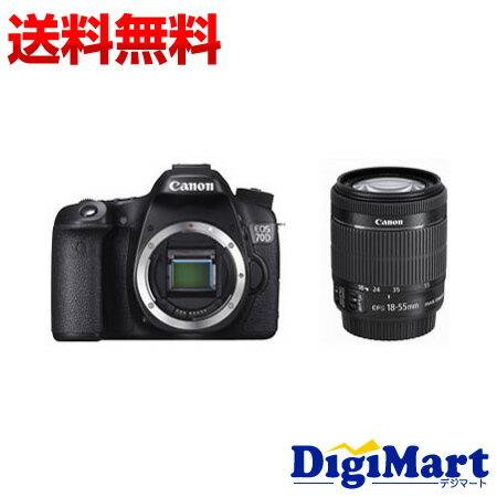 【送料無料】キャノン CANON EOS 70D EF-S18-55 IS STM レンズキット デジタル一眼レフカメラ 【新品・国内正規品】