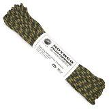 パラシュートコード 30m パラコード [マルチカモ] テントアクセサリー ロープ マルチカモ 耐加重250Kg ウッドランドカモ 迷彩柄 カモフラージュ 迷彩 綱 靴紐 靴ひも