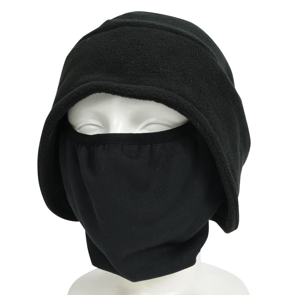 Rothco フリースキャップ フェイスマスク付 [ ブラック ] | ベースボールキャッ…...:digisto:10009948