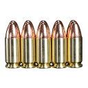 KSC ダミーカート 9mm ルガー M93R用 フルメタル製 10発入 ケーエスシー ダミーカートリッジ LUGER DUMMY CARTRIDGES 9ミリ 9×19弾 M93..