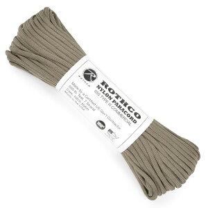 ROTHCO パラコード タイプ3 タン [ 30m ] ロスコ 550パラコード パシュートコード ロープ 綱 靴紐 靴ひも シューレース