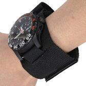 Rothco 時計用ベルト ウォッチバンド ナイロン [ ブラック ] | ミリタリーウォッチ 軍用腕時計 軍用ウォッチ