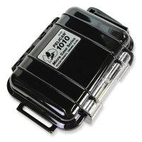 PELICAN マイクロケース 1010 [ ソリッドブラック ] CBK : 透明 携帯電話 デジカメケース 保護ケース ダイビング プラスチックボックスの画像