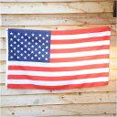フラッグ 星条旗 90cm×156cm Flag 大判 国旗 アメリカ 米国 アメリカン 雑貨
