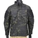 TRU-SPEC BDUジャケット XTREME マルチカムブラック [ Lサイズ ] TRUSPEC トゥルースペック ATLANCO TDU アトランコ シャツ アーミージャケット 上着