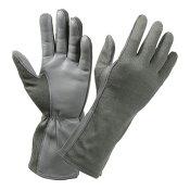 ロスコ 羊革フライトグローブ 耐熱仕様 [ フォリアージュグリーン / Mサイズ ] 3457 Rothco | 革レザーグローブ 皮製 皮タクティカルグローブ ミリタリーグローブ
