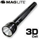 MAGLITE 懐中電灯 Dセル LEDライト [ ブラック / 3D_(単一電池_3本) ] 単1電池 |MAGLITE MAG-LITE AAAセル ハンディライト アウトドア 懐中電気 明るいLEDライト 強力 防災