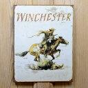 ブリキ看板 WINCHESTER ロゴ ウィンチェスター | Winchester ブリキカンバン ティンサイン サインボード インテリア TINサイン アメリカン雑貨
