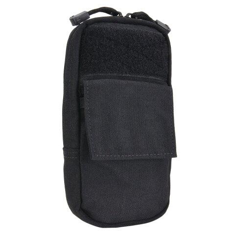 CONDOR GPSポーチ MA57 パット付きポーチ [ ブラック ] コンドル gpspouch ラジオポーチ ストロボポーチ 携帯ケース ミリタリーグッズ ミリタリー用品 サバゲー装備 5インチMOLLE 精密機器