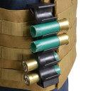 12ゲージ ショットシェルホルダー 10発装弾可能 TB1123 ショットシェルポーチ 散弾ケース 散弾ホルダー