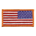 Rothco ミリタリーワッペン 星条旗 RO777828 アメリカ国旗 フラッグパッチ | ミリタリーパッチ アップリケ 記章 徽章 襟章 肩章 胸章 階級章