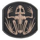 ミルスペックモンキー PVCパッチ Frog Skeleto...