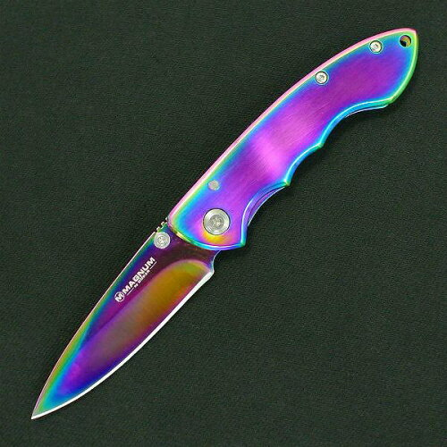 ボーカーマグナム 折りたたみナイフ ブレイズ 虹色 BOKER | 折り畳みフォルダー フォールディングホールディング