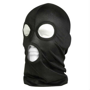 フェイス ブラック フリースマスク