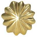 コンチョ アンブレラ 真鍮 13mm ハンドメイド 長財布 ロングウォレット 革製品 レザークラフト 材料 資材 パーツ