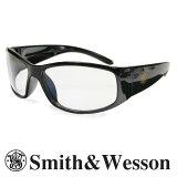 スミス&ウエッソン サングラス エリート クリア S&W スミス&ウェッソン メンズ スポーツ 紫外線カット UVカット グラサン 運転 ドライブ バイク ツーリング 曇り止め 透