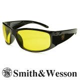 スミス&ウエッソン サングラス エリート イエロー S&W | スミス&ウェッソン メンズ スポーツ 紫外線カット UVカット グラサン 運転 ドライブ バイク ツーリング 曇り止め アンバー 黄色
