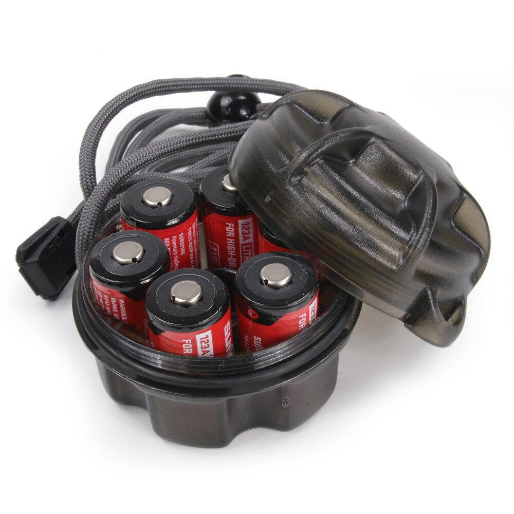 SUREFIRE 電池ケース SC1 ランヤード付 バッテリー バルブ スペアキャリアー | シュアファイヤ シュアファイヤー