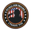 ミリタリーパッチ アメリカ軍兵士 アイロンシート付 ミリタリーワッペン アップリケ 記章 徽章 襟章 肩章 胸章 階級章