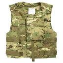イギリス軍放出品 ボディアーマー 陸軍 ベルクロ式 MTP迷彩 [ 180/116 ] 英軍 GB Cover Combat Vest ミリタリー サバゲー 装備品 プレートキャリア プレキャリ プレートキャリアー 防弾プレートキャリア ミリタリーサープラス ミリタリーグッズ