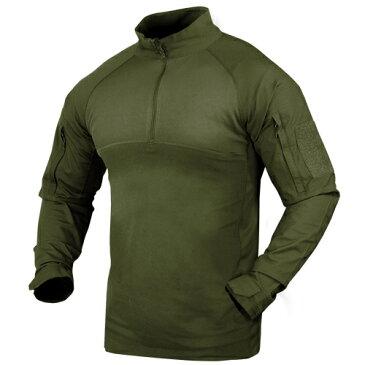 CONDOR コンバットシャツ 101065 [ オリーブドラブ / Lサイズ ] ミリタリーシャツ 長袖シャツ ロングTシャツ アーミーシャツ アサルトシャツ TDUシャツ