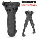 FABディフェンス T-POD G2 PR フォアグリップ&バイポッド 実物 [ ブラック ] FAB-Defense ファブディフェンス バーティカルグリップ...